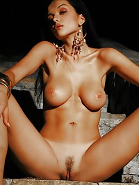 Jenya never lets you down, she has large breasts and big nipples and a wild dancer too.