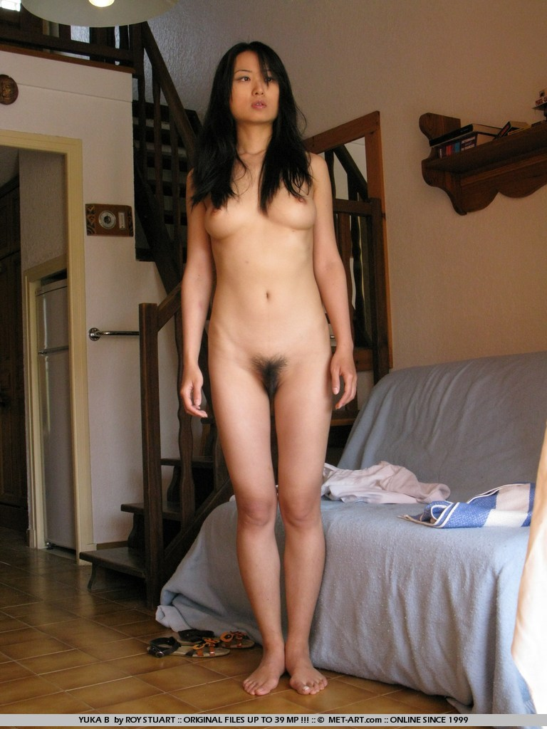 Hairy chinese nude model agree, very