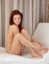Beautiful redhead with a fresh body