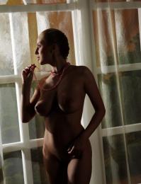 big tits on a sexy model