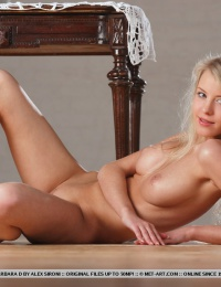 busty country blond model