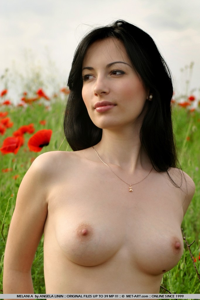 Sexy black haired women