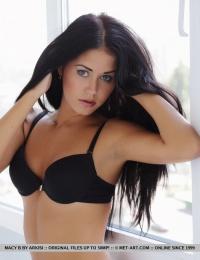 dark hair blue eyes Iceland babe