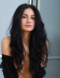 dark hair porn pics
