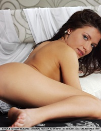 Excited young model got naked quick