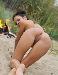 hot amateur outdoor metart