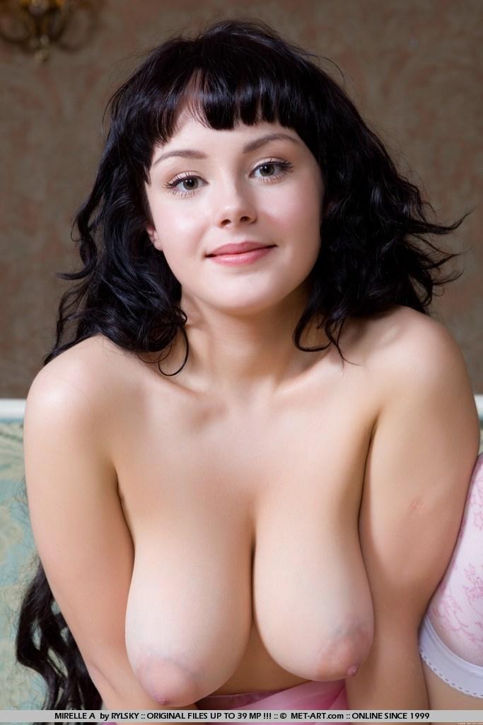 Nude female angel sketch