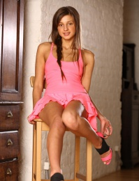 Melena's girlish beauty with womanly allure can make any man down to his knees