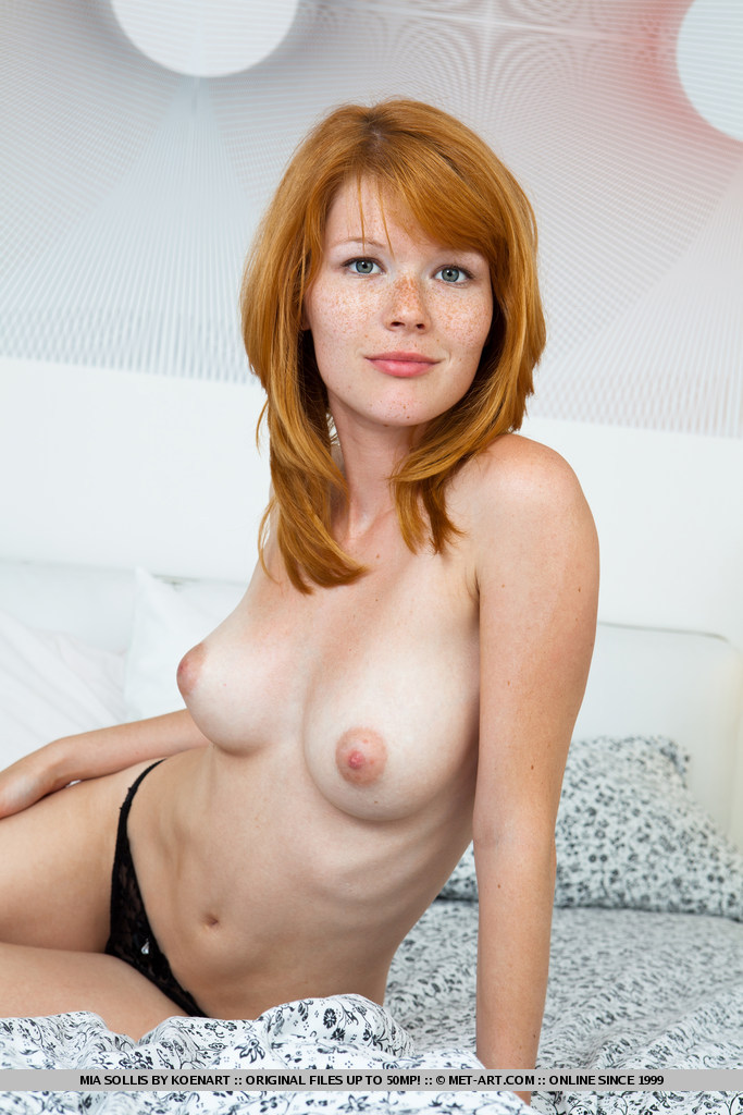 Knows freckle redhead naked nice blowjob too