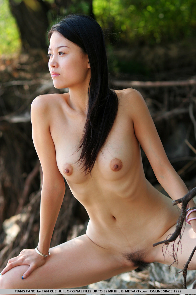 Model photo shoot asian nude