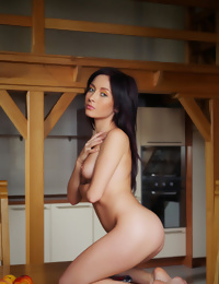 Night is the perfect pinup girl with her petite physique and tight body