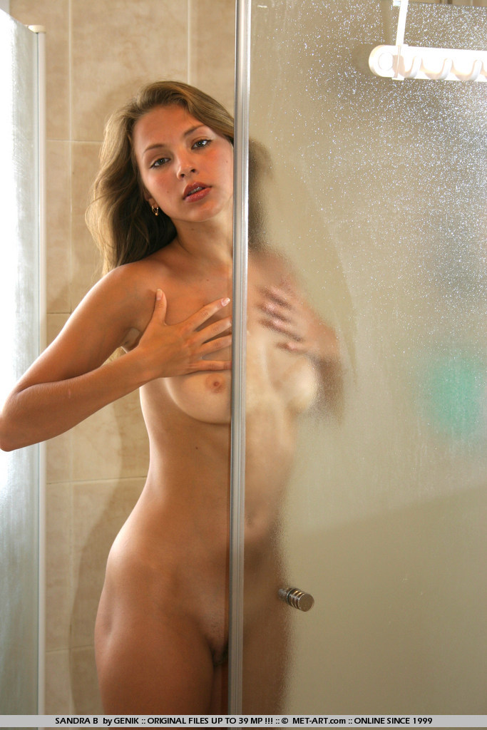 The babes sexy shower in nude