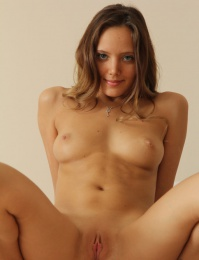 she spreads her legs for her naked debut