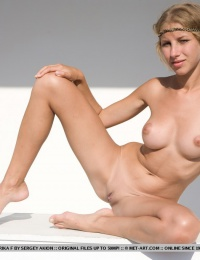 Young and nubile body with a pretty alluring face